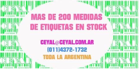 Rollos adhesivas, (zebra zm400- etiquetas termicas-codigos de barras)