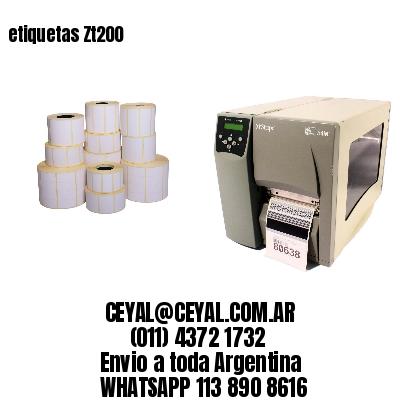 etiquetas Zt200
