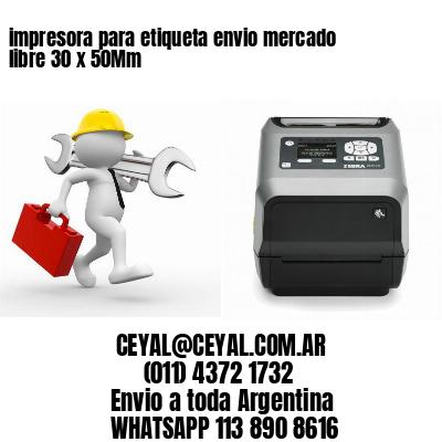 impresora para etiqueta envio mercado libre 30 x 50Mm
