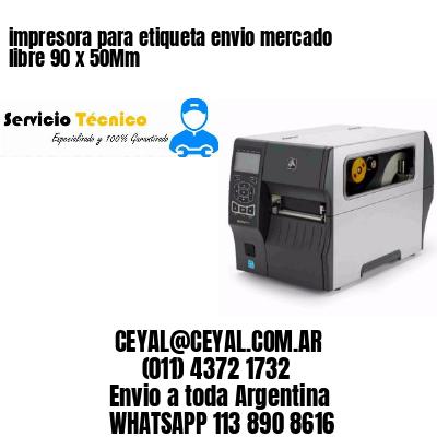 impresora para etiqueta envio mercado libre 90 x 50Mm