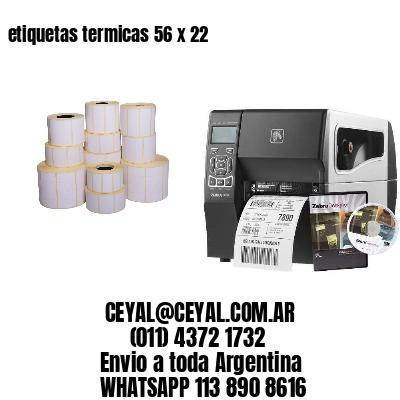 etiquetas termicas 56 x 22