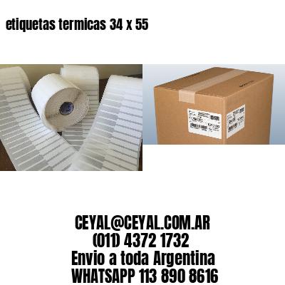 etiquetas termicas 34 x 55