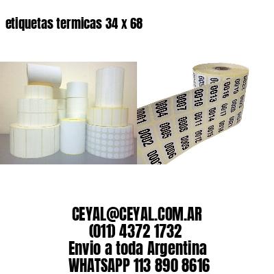 etiquetas termicas 34 x 68