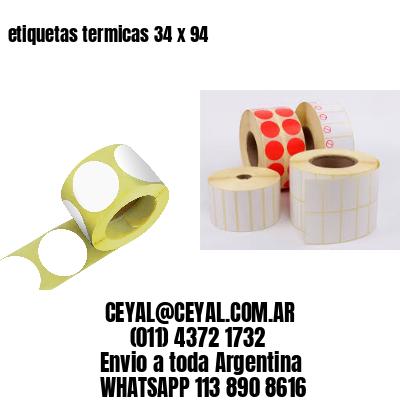 etiquetas termicas 34 x 94