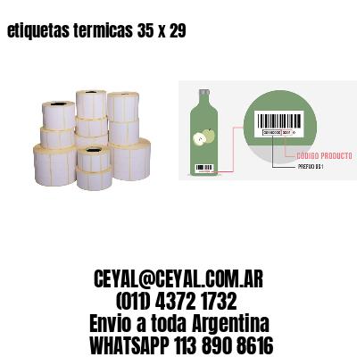etiquetas termicas 35 x 29