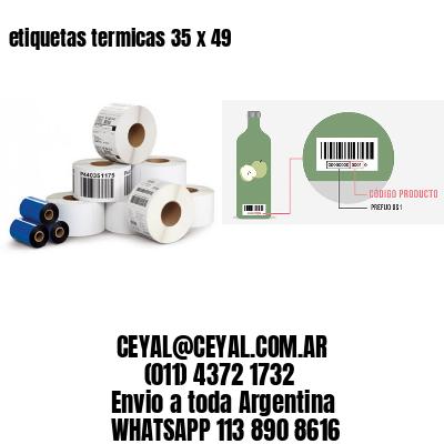 etiquetas termicas 35 x 49