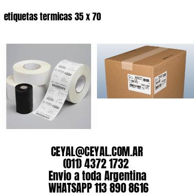etiquetas termicas 35 x 70