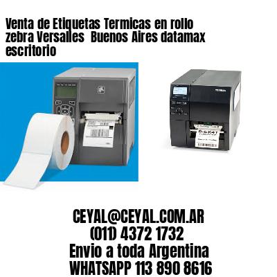 Venta de Etiquetas Termicas en rollo zebra Versalles  Buenos Aires datamax escritorio
