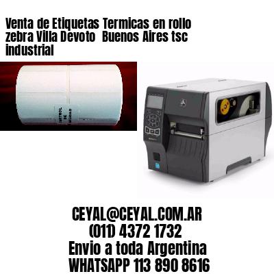 Venta de Etiquetas Termicas en rollo zebra Villa Devoto  Buenos Aires tsc industrial