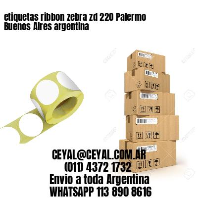 etiquetas ribbon zebra zd 220 Palermo  Buenos Aires argentina