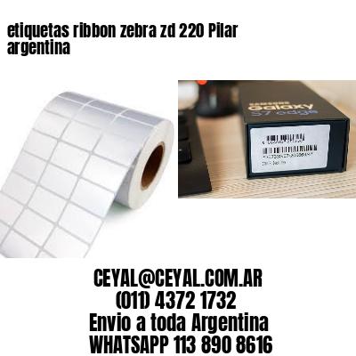etiquetas ribbon zebra zd 220 Pilar argentina