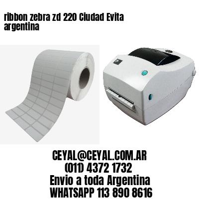 ribbon zebra zd 220 Ciudad Evita argentina