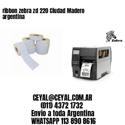 ribbon zebra zd 220 Ciudad Madero argentina