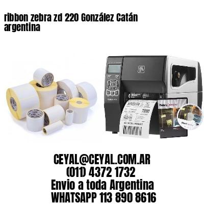 ribbon zebra zd 220 González Catán argentina
