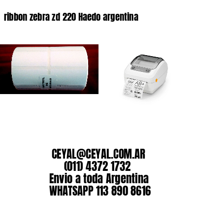 ribbon zebra zd 220 Haedo argentina