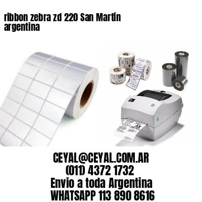 ribbon zebra zd 220 San Martín argentina
