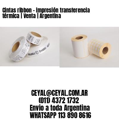 Cintas ribbon - impresión transferencia térmica   Venta   Argentina