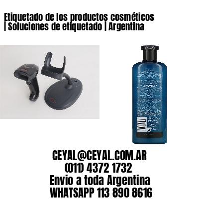 Etiquetado de los productos cosméticos | Soluciones de etiquetado | Argentina