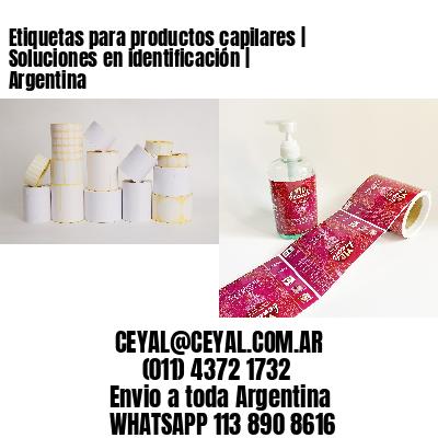 Etiquetas para productos capilares | Soluciones en identificación | Argentina