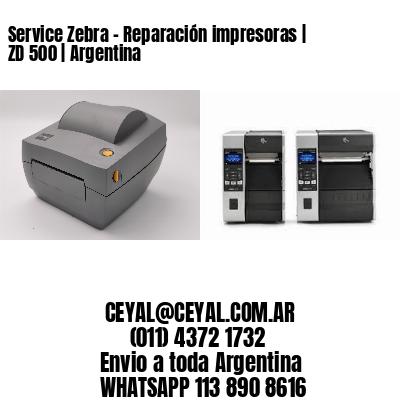 Service Zebra - Reparación impresoras | ZD 500 | Argentina