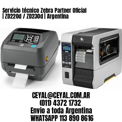 Servicio técnico Zebra Partner Oficial | ZD220d / ZD230d | Argentina