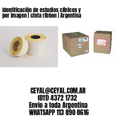 Identificación de estudios clínicos y por imagen | cinta ribbon | Argentina